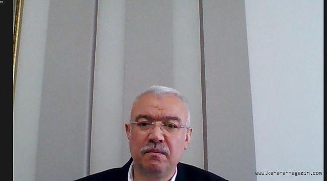 AK Parti Karaman İl Başkanlığı Bayramlaşma Programlarına devam ediyor.