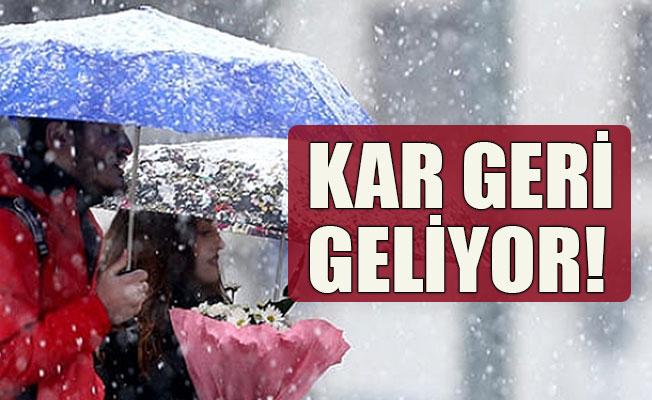 Karaman'a kar yağışı geliyor
