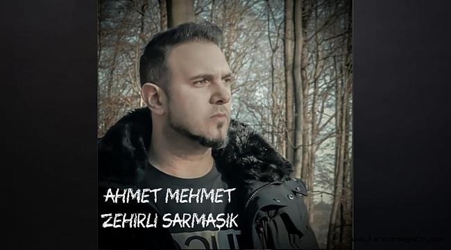 """Ahmet Mehmet'in ilk teklisi """"Zehirli Sarmaşık"""" dinleyicileri ile buluştu! Söz-Müziği """"bu yolda beni çok destekledi"""""""
