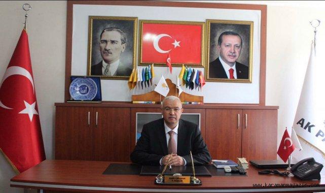 AK Parti İl Başkanı Abidin ÇAĞLAYAN 'ın 19 EKİM MUHTARLAR GÜNÜ KUTLAMA MESAJI